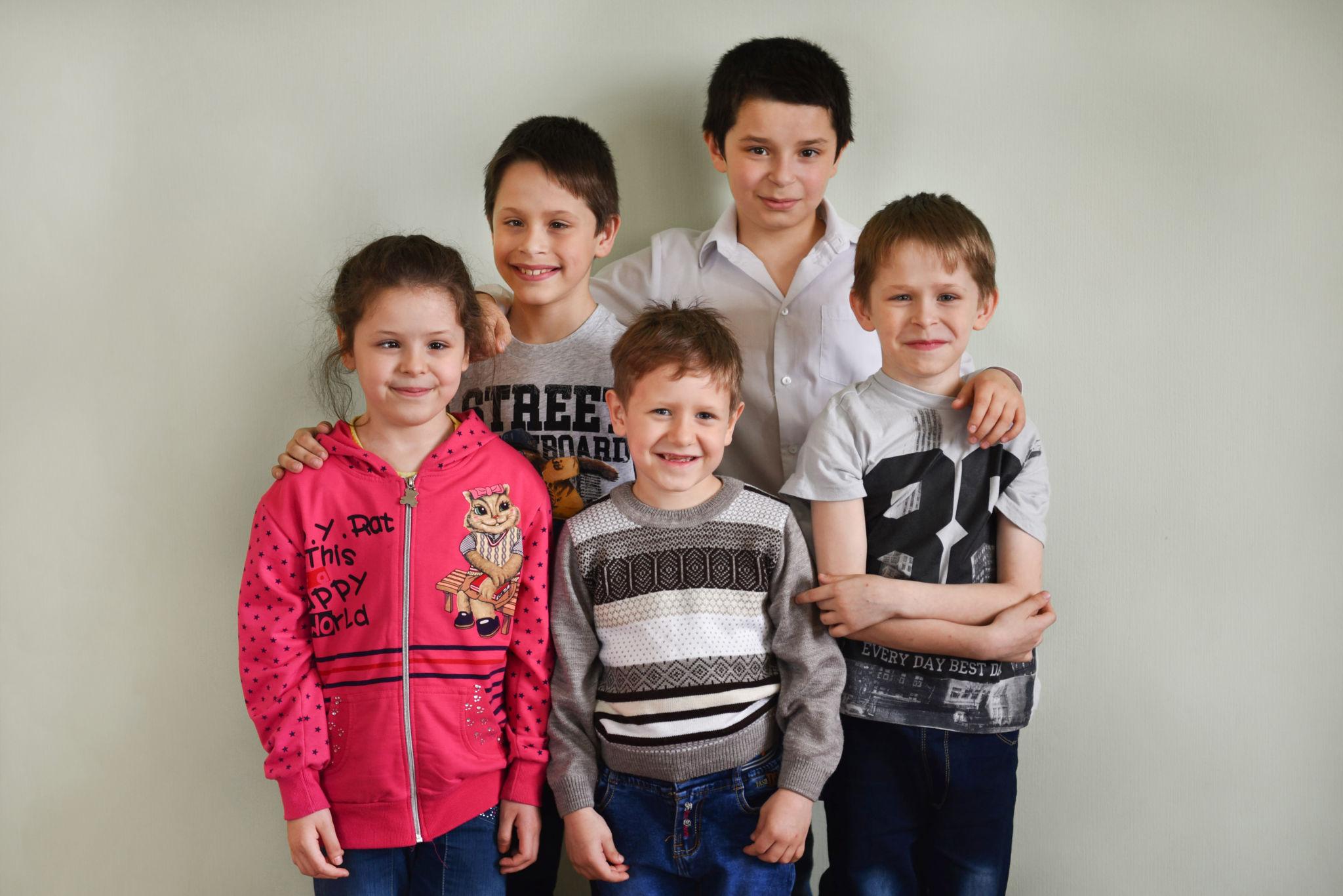Ищем родителей для большой семьи
